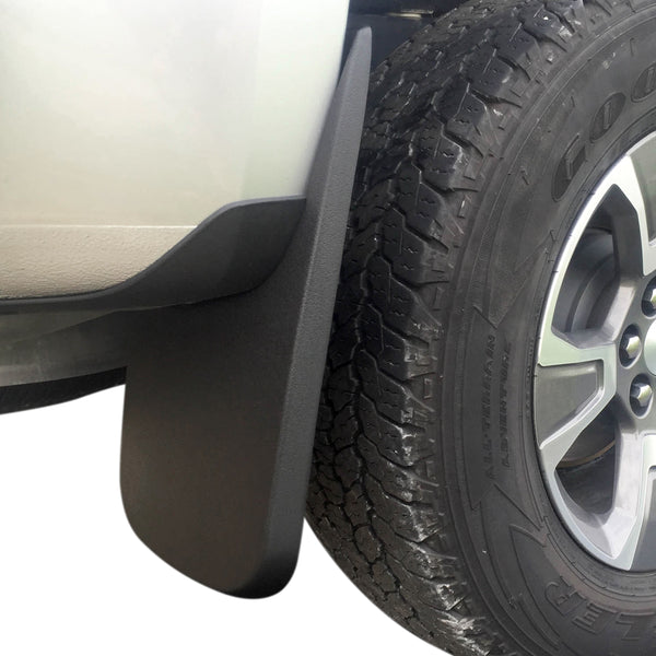 Red Hound Auto Rear Molded Mud Flaps Compatible with Chevy Colorado GMC Canyon