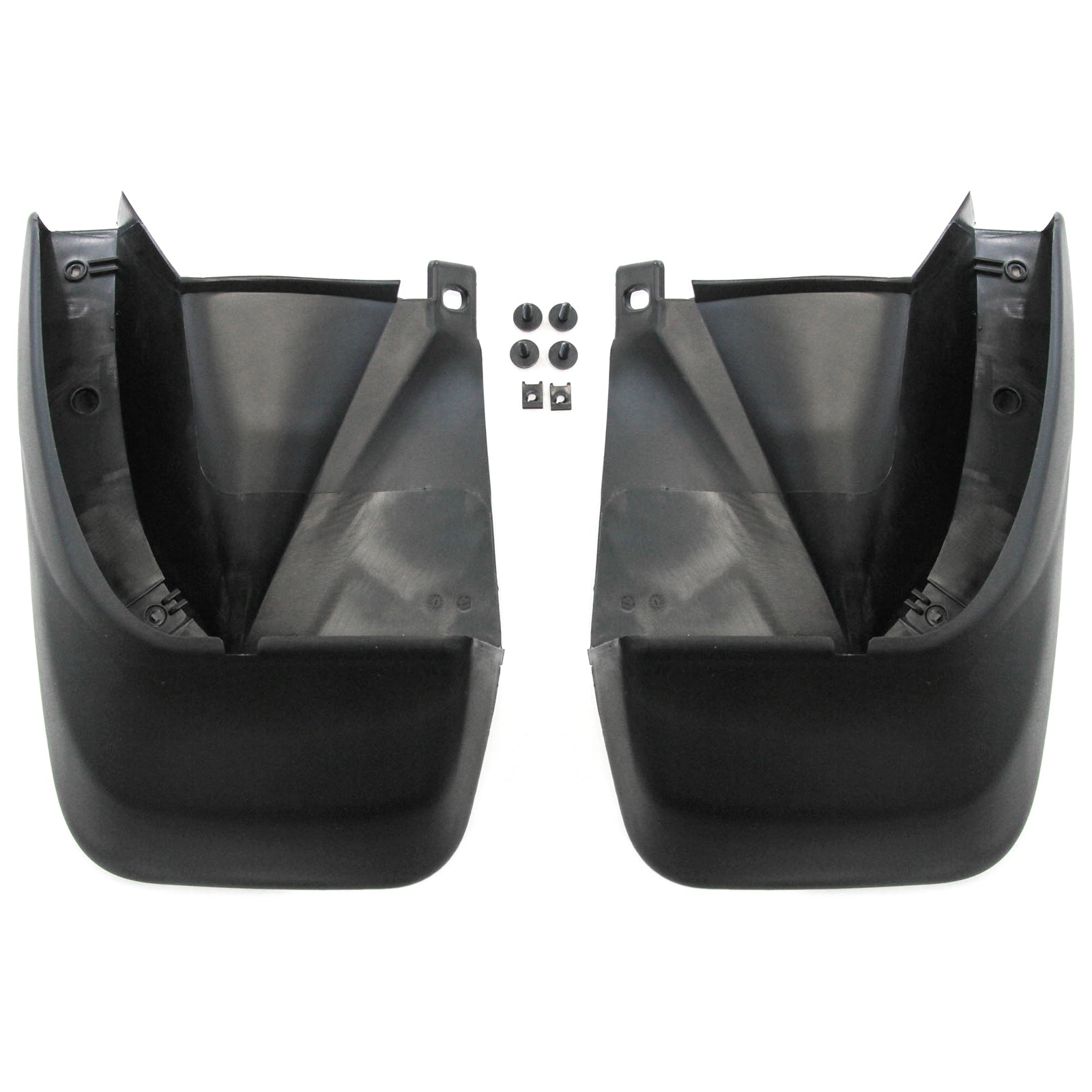 2003-2005 Compatible with Honda Pilot Mud Flaps Guards Splash Protector Rear Molded Pair 2pc