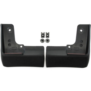 Red Hound Auto 2010-2015 Compatible with Toyota Prius Mud Flaps Mud Guards Splash Front 2pc Set