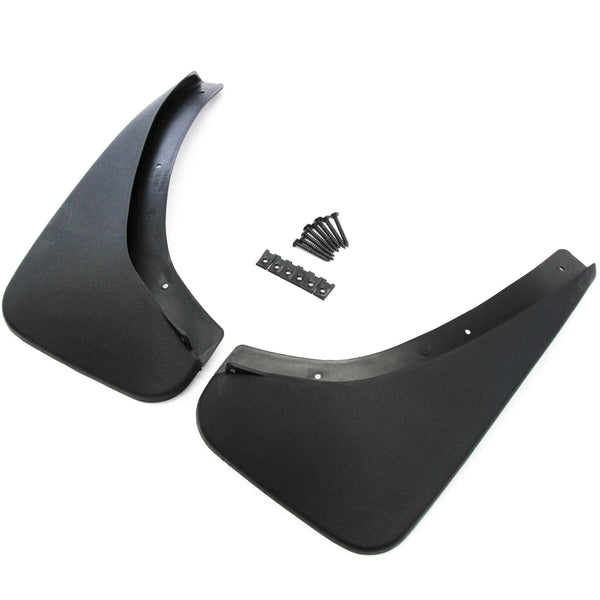2006-2009 Compatible with Pontiac Solstice Mud Flaps Mud Guards Splash Rear Molded 2pc Set