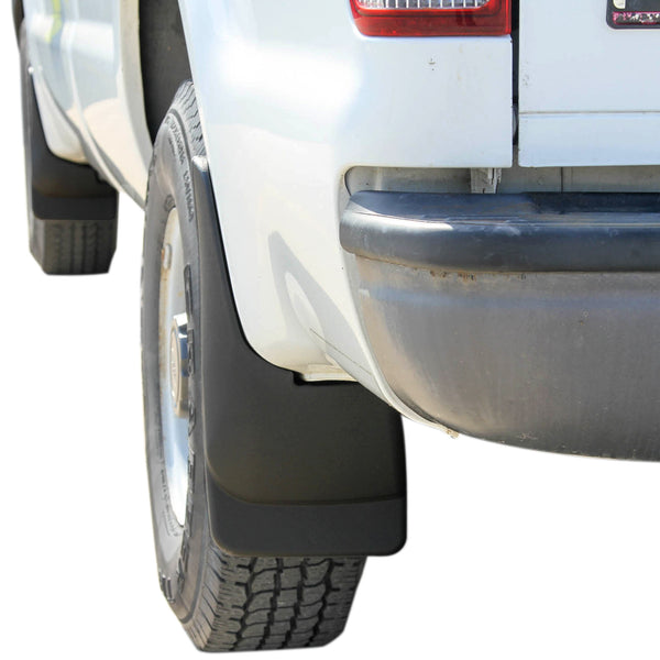 Red Hound Auto Heavy Duty Molded Mud Flaps Compatible with 1999-2010 Ford F250 F350 & 2000-2005 Excursion Mud Guards Splash Front Rear 4pc Set (Without Fender Flares)