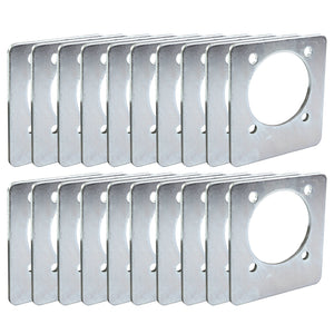 20) Backing Plate Mounting Plates for D Ring Plate Tie Down Recessed