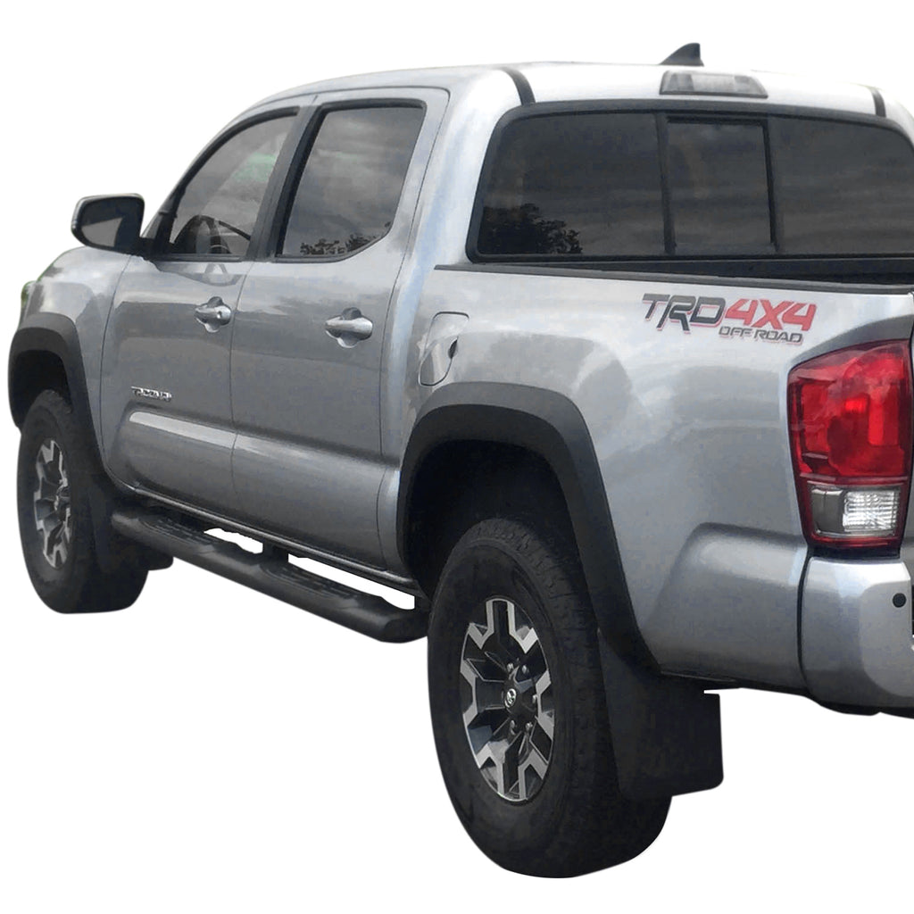 New Left Side Front Thermoplastic Black Fender Flare For Toyota Tacoma 2005-2015