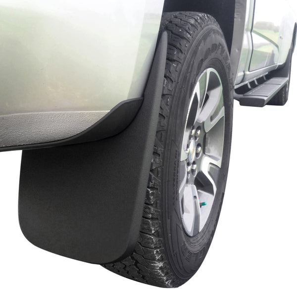 Red Hound Auto Premium Heavy Duty Molded 2015-2019 Compatible with Chevy Colorado/GMC Canyon Without Flares Mud Flaps Guards Splash Front Rear 4 Piece Set