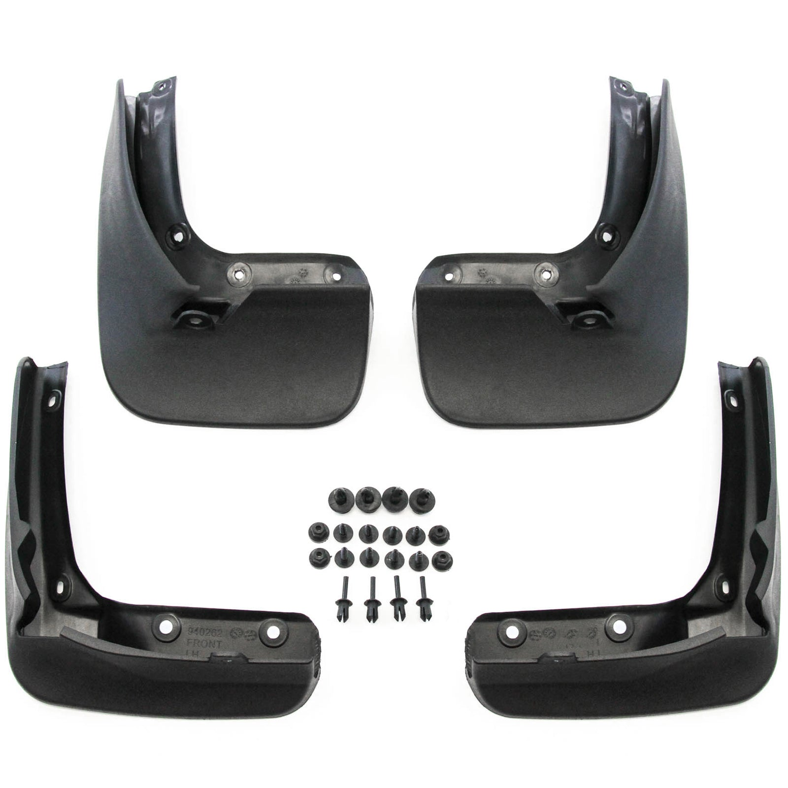 Premium Heavy Duty Molded 2015-2018 Compatible with Volkswagen GTI Mud Flaps Mud Guards Splash Front Rear Molded 4pc Set