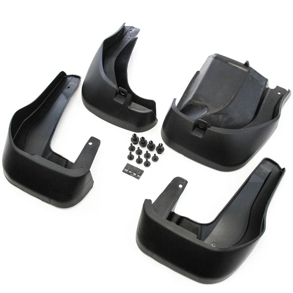 Premium Heavy Duty Molded 2012-2016 Compatible with Honda CR-V Mud Flaps Fender Guards Splash Front Rear Molded 4pc Set