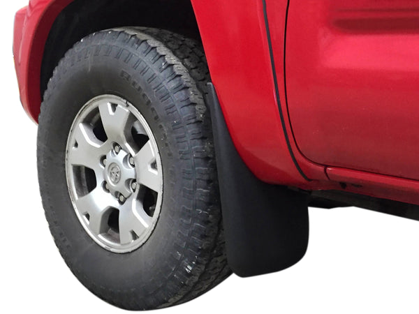 Red Hound Auto Custom Fit Front Mudguard for 2005-2015 Compatible with Toyota Tacoma Models