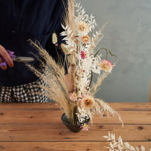 DIY Home Ikebana Dry Flower Workshop Kit