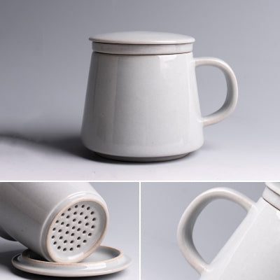 Ceramic Tea Mug with Filter