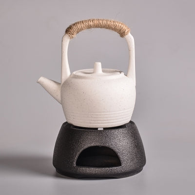 Ceramic Tea Pot with Warmer