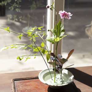 Easy Ikebana Flower Bowl