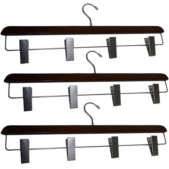 USA Kilts Heavy Duty Wide 4 Clip Kilt Hanger 3 Pack