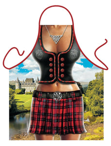 Scottish Woman Funny Apron