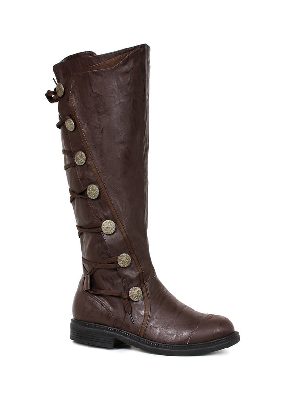 Mens Fresco Brown Knee High 1