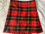 USED Kilt - Gold Brothers WALLACE Tartan - Size 38