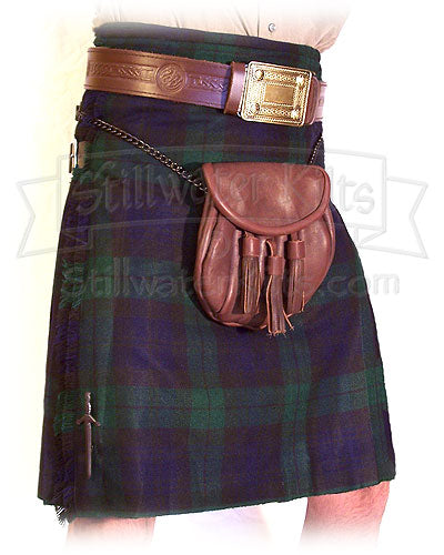 Wool Heavyweight Kilt: Black Watch Tartan from Stillwater Kilts