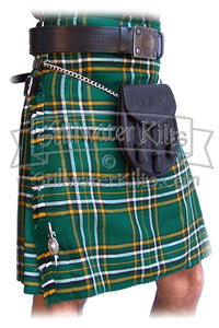 Irish National Tartan™ Standard Kilt from Stillwater Kilts