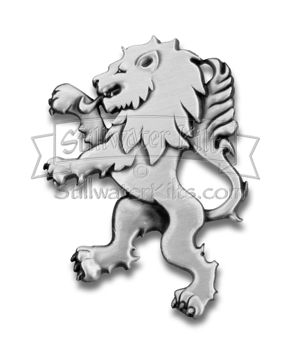 Deluxe Rampant Lion Kilt Pin by Stillwater Kilts