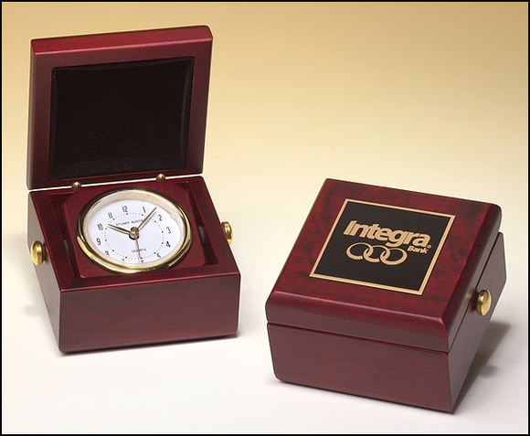 Table top mini Box Clock