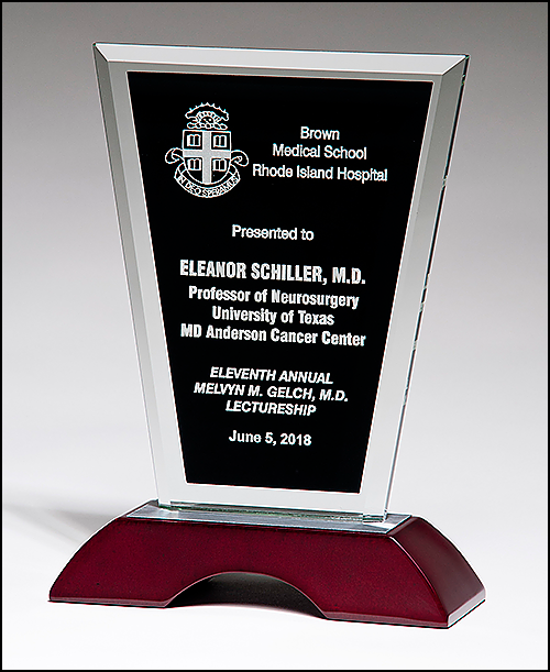 Black Rosewood Glass Award