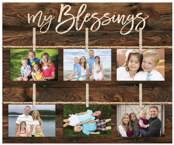 My Blessings Photo Holder