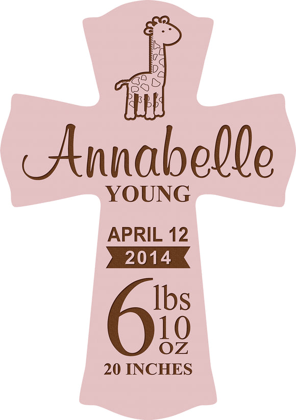 Personalized Pink Cross 11