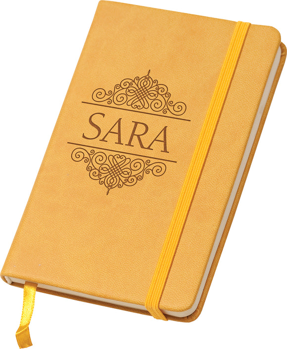 Mini Yellow Notebook