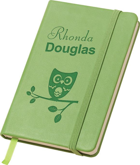 Mini Green Notebook