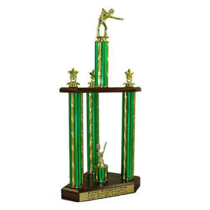 Triple Column Trophy
