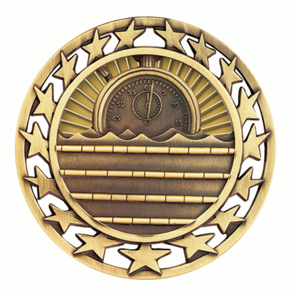 Swim Star Medal