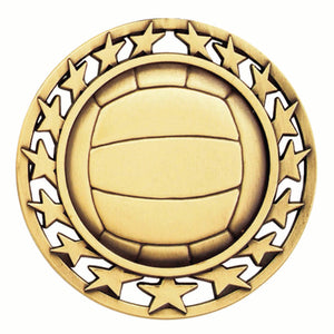 Volleyball Star Medal