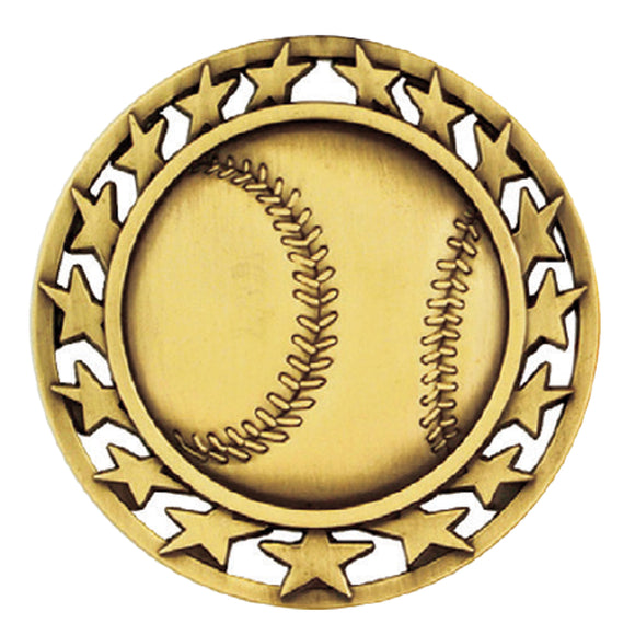 Baseball/Softball Star Medal