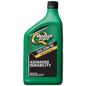 QUAKER STATE ADVANCED DURA 20W50 -12/1Q
