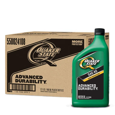 QUAKER STATE ADVANCED SAE 40 12/1