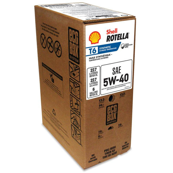 SHELL ROTELLA T6 SYNTHETIC 5W40-24/1QE