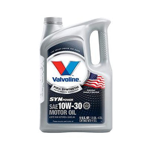 VALVOLINE SYN POWER 10W30 -6/1Q