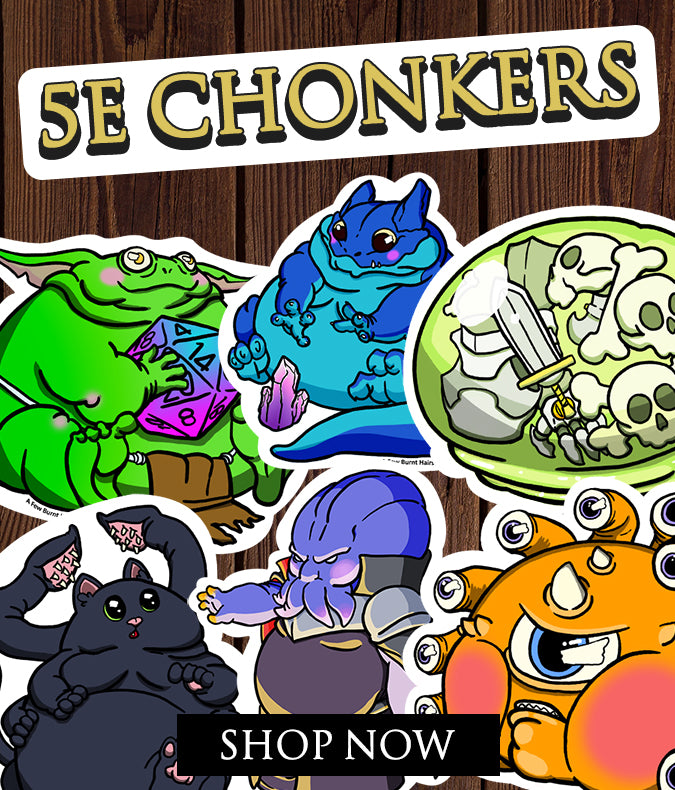 shop 5e chonker stickers