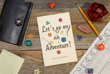Load image into Gallery viewer, Let's Go On An Adventure! Friendship Card