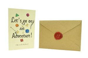 Let's Go On An Adventure! Friendship Card