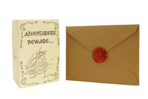Adventurers Beware... Dungeon Crawling Love Card