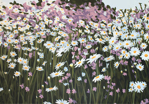"""Summer Field"" - 21x30 cm fine art canvas print"