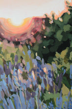 "Load image into Gallery viewer, ""the Last Light"" - original acrylic painting on canvas"