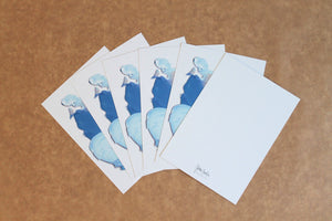 Palette II - set of 6 cards