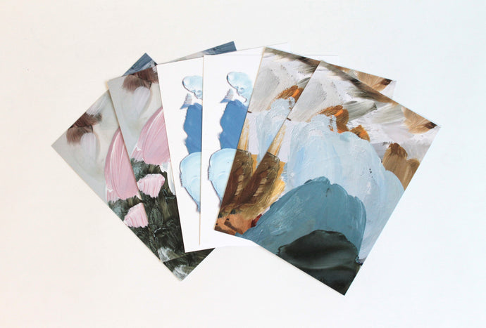 Palette Collection - set of 6 cards