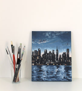 NYC landscape painting for sale
