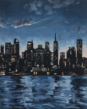 Load image into Gallery viewer, Original New York landscape oil painting on canvas