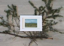 "Load image into Gallery viewer, ""Mini Adventure"" - framed original oil painting on paper"