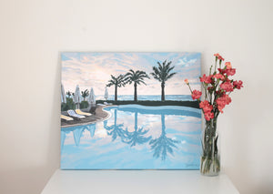 Original landscape painting on canvas for sale
