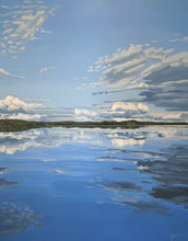 Load image into Gallery viewer, Lake painting landscape painting maisemamaalaus järvimaalaus