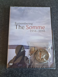 Remembering The Somme DVD & Commemorative Coin